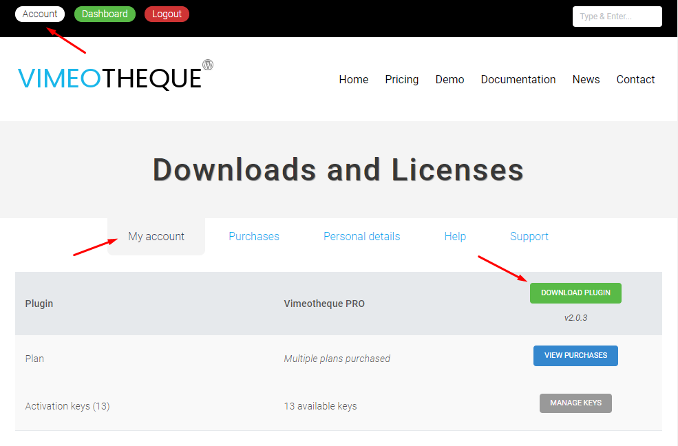 Vimeotheque PRO download